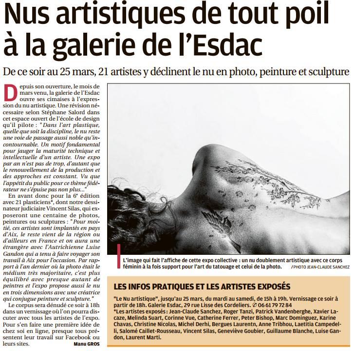 Article la Provence 4 mars 2017