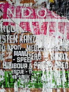 Décollage d'affiche - Street Art (1)