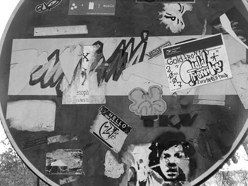 Street art sans interdit NB
